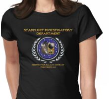 Warehouse 13: TNG Starfleet Investigatory Department Womens Fitted T-Shirt
