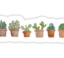 cactus line Sticker