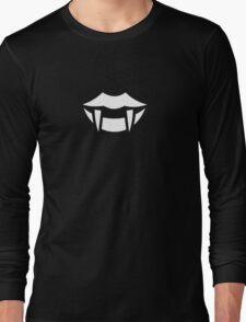 Vampire Fangs Ideology Long Sleeve T-Shirt