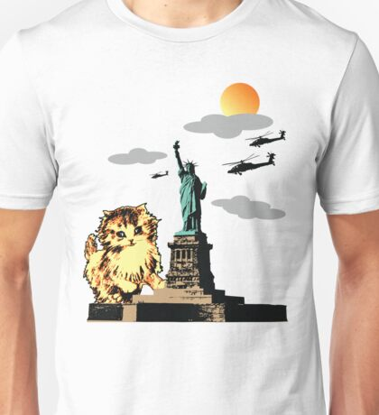 Cat's World 4 - Kitty of Liberty Unisex T-Shirt