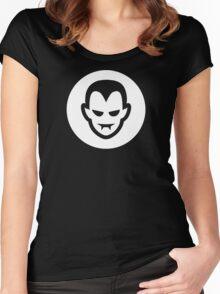 Vampire Halloween Ideology Women's Fitted Scoop T-Shirt