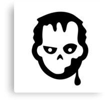 Zombie Halloween Ideology Canvas Print