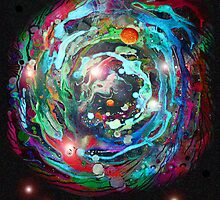 Psychedelic Space by James Lewis Hamilton