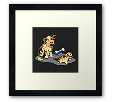 Cat's World 7 - Dad the Trickster Framed Print