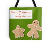 Merry Christmas pattern Tote Bag