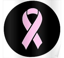Breast Cancer Awareness Pink Poster