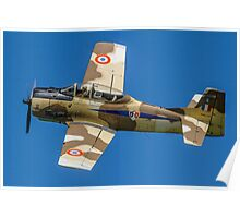 T-28S Fennec 51-7545/119 N14113 Poster