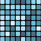 blue mosaic by BoYusya