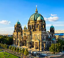 The Cathedral of Berlin, Germany by Michael Abid