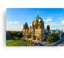 The Cathedral of Berlin, Germany Canvas Print