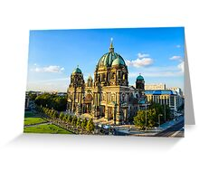 The Cathedral of Berlin, Germany Greeting Card