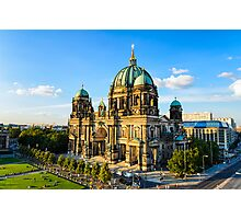 The Cathedral of Berlin, Germany Photographic Print