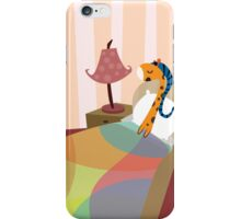 Sleepy Orange iPhone Case/Skin