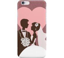 Wedding invitation design. iPhone Case/Skin