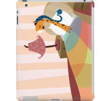 Sleepy Orange iPad Case/Skin