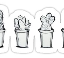 cactuses simple Sticker
