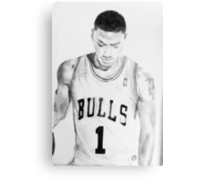 Derrick Rose - Chicago Bulls Canvas Print