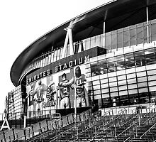 The Emirates Stadium, London by Adam Carra