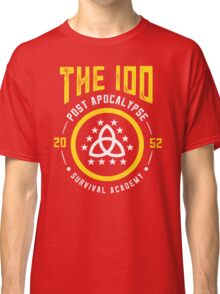 The 100 Post Apocalypse Survival Academy Classic T-Shirt