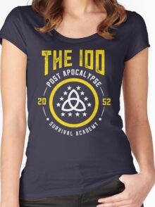 The 100 Post Apocalypse Survival Academy Women's Fitted Scoop T-Shirt