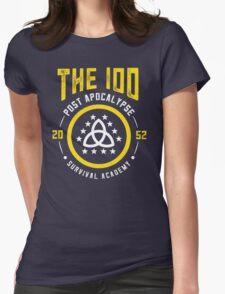 The 100 Post Apocalypse Survival Academy Womens Fitted T-Shirt
