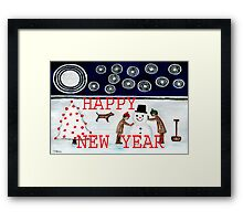 HAPPY NEW YEAR 20 Framed Print