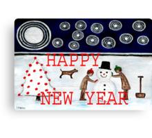 HAPPY NEW YEAR 20 Canvas Print
