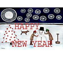 HAPPY NEW YEAR 20 Photographic Print