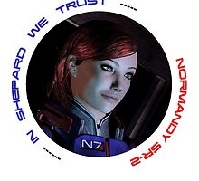 Mass Effect FemShep by Z0Ne