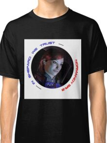 Mass Effect FemShep Classic T-Shirt