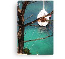 Azure Water Canvas Print