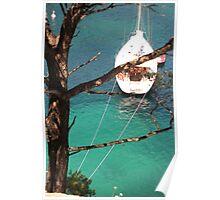 Azure Water Poster