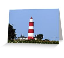 Happisburgh Lighthouse Norfolk (2) Greeting Card