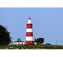 Happisburgh Lighthouse Norfolk (2) Photographic Print