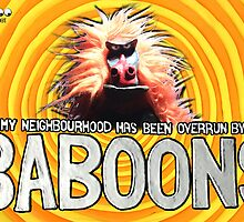 Baboons Poster by GooRoo Animation