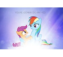 You're gonna go far, kid Photographic Print