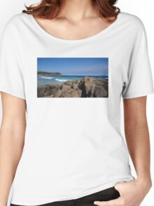 Rocks and the Ocean Women's Relaxed Fit T-Shirt