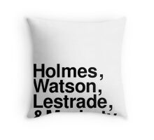 Bigger Than Beatles [Mono] Throw Pillow