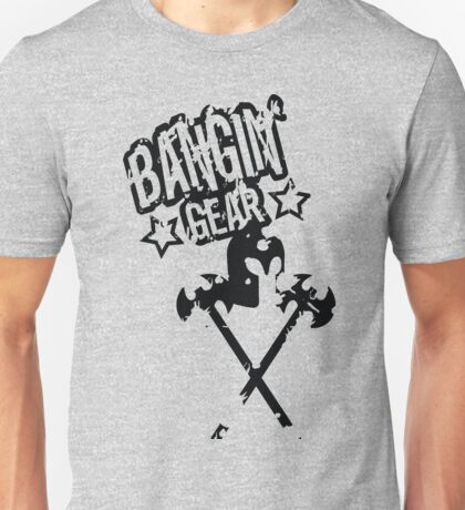 Bangin' Gear Medieval Logo Items Unisex T-Shirt