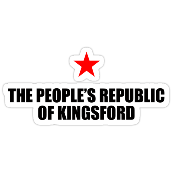 The Peoples Republic of Kingsford by PJ Collins