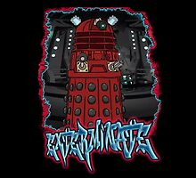 Exterminate Dalek from Doctor Who by mrsuperbafrango