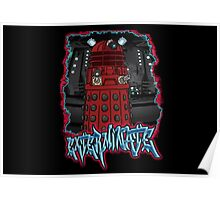 Exterminate Dalek from Doctor Who Poster