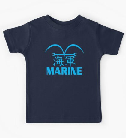 One Piece Marine Uniform Kids Tee