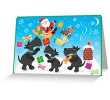 Presents from Santa Greeting Card