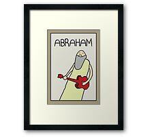 PROFESSOR BROTHERS - BIBLE STUDIES - POSTER OF ABRAHAM Framed Print