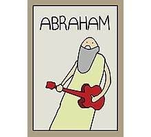 PROFESSOR BROTHERS - BIBLE STUDIES - POSTER OF ABRAHAM Photographic Print