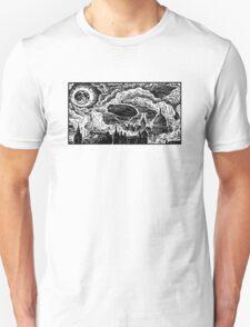 Steampunk Skyline Unisex T-Shirt