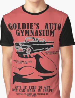 Goldie's Auto Gymnasium Graphic T-Shirt