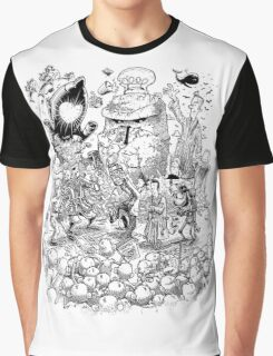 Hitch Hiker's guide to the Galaxy Graphic T-Shirt