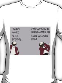 PROFESSOR BROTHERS - BIBLE STUDIES - SODOM AND GOMORRAH T-Shirt